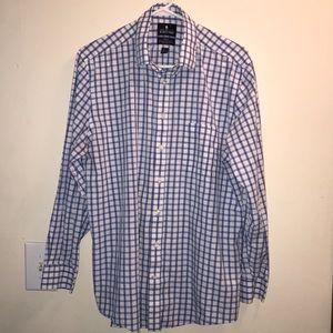 Stafford Travel Long Sleeve Button down Shirt